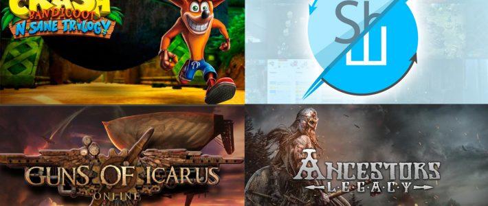 Розіграш трьох ігор! Crash Bandicoot N. Sane Trilogy (Steam). Ancestors Legacy (Steam). Guns of Icarus Online (Steam)
